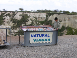 Natural Viagra stand and seller