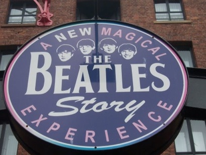 The Beatles Story Experience Sign